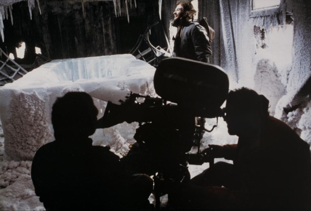 Filming Ice Block